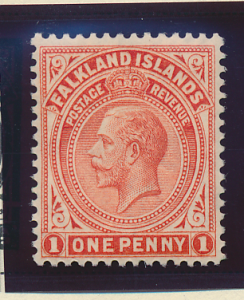 Falkland Islands Stamp Scott #31, Mint Hinged - Free U.S. Shipping, Free Worl...