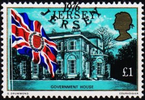 Jersey. 1976 £1 S.G.154 Fine Used