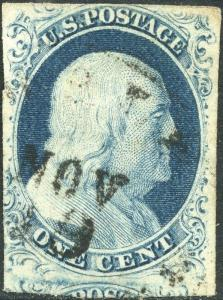 #9 USED POS34L1L WITH DATE CANCEL VF+ BN9167