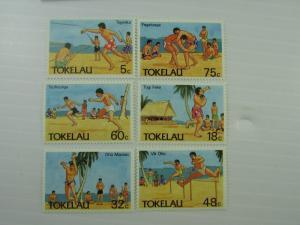 1987 Tokelau SC #144-49 OLYMPIC SPORTS  MNH  stamp set