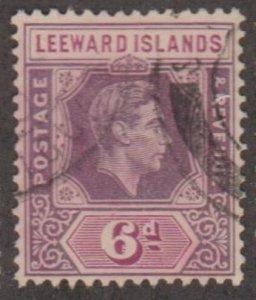 Leeward Islands Scott #110 Stamp - Used Single