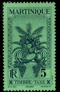 Martinique Scott J26 MH* 1933 Postage Due