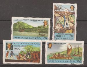Central  African  Empire  #  341 - 44  used   CTO