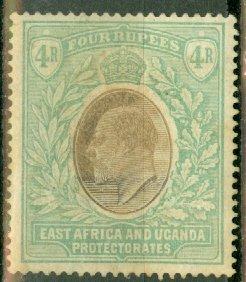 B: East Africa & Uganda 12 mint CV $175