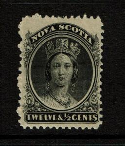 Nova Scotia SC# 13 Mint Never Hinged / Toned Gum - S8326