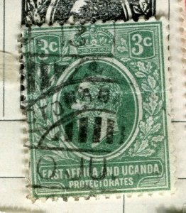 BRITISH KUT; 1912 early GV issue fine used 3c. value