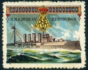 Cinderellas: England Great War Ships - HMS Duke of Edinburgh (Delandre)