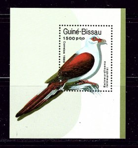 Guinea-Bissau 818 MNH 1989 Birds S/S