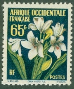 FRENCH WEST AFRICA 83 MH CV$ 3.25 BIN$ 1.75