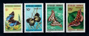 [70624] Gabon 1971 Insects Butterflies  MNH