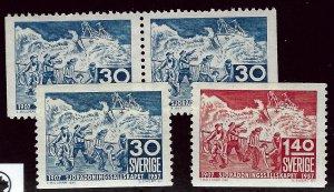 Sweden SC#499-501 Mint VF...fill a solid spot...