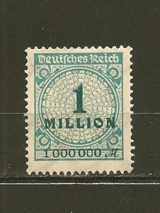 Germany 281 Numeral MNH