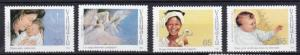 1988 Vanuatu Scott 493-496 Christmas MNH