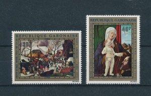 [104714] Gabon 1972 Christmas Weihnachten art paintings Brueghel Basaiti  MNH