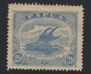 Papua New Guinea Sc#53a MH - pencil on reverse