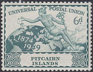 Pitcairn Islands # 15 mnh ~ 6p UPU