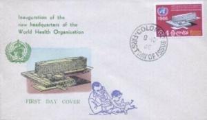 CEYLON - UN WHO - Overseas Mailers