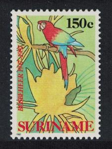 Suriname Green-winged Macaw Bird 1v SG#1324