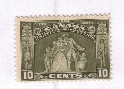 Canada Sc 209 1934 110c United Empire Loyalists stamp mint