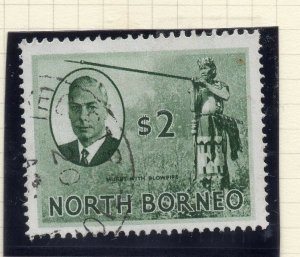 North Borneo 1950 Early Issue Fine Used $2. 281354