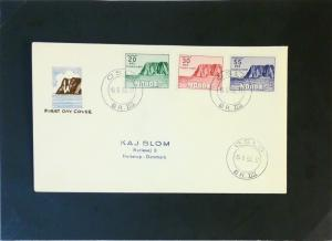 Norway 1953 North Cap Issue First Day Cover - Z3131