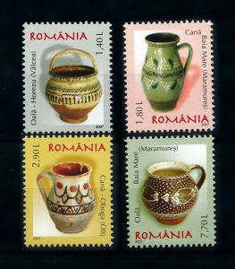 [101110] Romania 2007 Definitives ceramics pottery  MNH