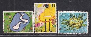 IRELAND SC# 453-55  FVF/MNH 1979