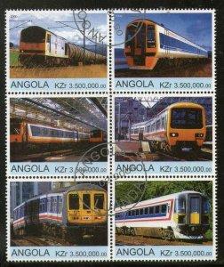 Angola Used Block Of 6 Diesel Locomotives 2000