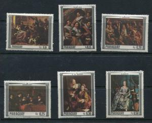 Paraguay 1967 Famous Paintings MNH Art