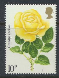 Great Britain SG 1007  MUH Roses