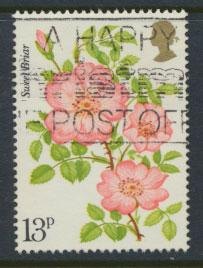 Great Britain SG 1009  - Used Roses