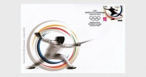 2012  ESTONIA  -  SG: 685  -  OLYMPICS 2012, LONDON  -  FIRST DAY COVER