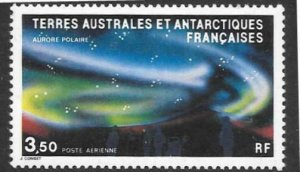 FRENCH SOUTHERN & ANTARCTIC TERRITORIES SG192 1984 POLAR AURORA  MNH