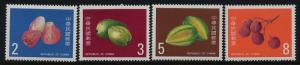 China - Taiwan 2464-7 MNH Fruit