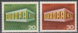Germany #996-7  MNH  (S9312)