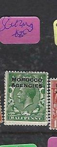 MOROCCO AGENCIES  (P2308B)  KGV   1/2D  SG 42     MOG