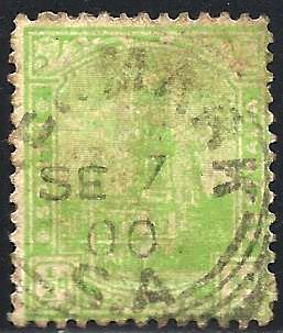 South Australia 1899 Scott # 114 Used