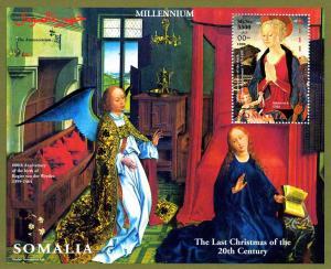 Somalia 1999 MILLENNIUM BALDOVINETTI Christmas s/s Perforated Mint (NH)