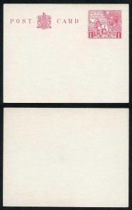 KGV 1925 1d Wembley Post Card MINT