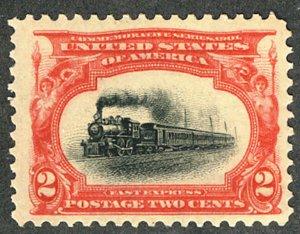 MALACK 295 VF/XF OG NH, big stamp, super nice,  well..MORE.. w9570