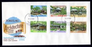Tokelau 126-131 Architecture U/A FDC