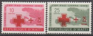 Haiti #B4-5 MNH F-VF (ST1850)