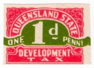 (I.B) Australia - Queensland Revenue : Development Tax 1d (proof)