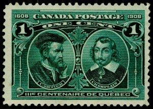 CANADA SG189, 1c blue-green, M MINT. Cat £32.