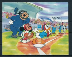 [22516] Grenada 1986 Disney Characters play baseball MNH