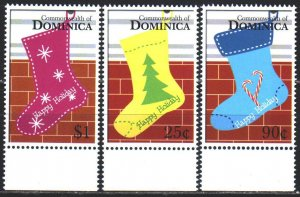 Dominica. 2006. 3788-91 in a series. Christmas, New Year. MNH.