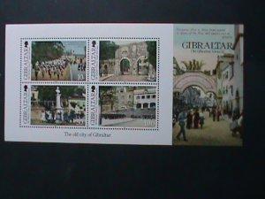 GIBRALTAR-2012-SC# 1346 THE OLD CITY MNH S/S SCV.$10 VF