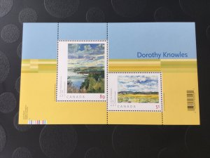 Canada Mint NH #2148 Art Canada: Dorothy Knowles