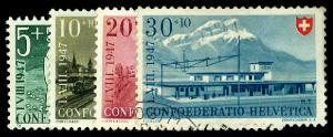 SWITZERLAND B162-65  Used (ID # 58187)