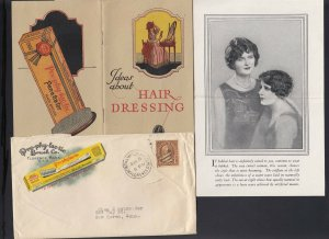 MASSACHUSETTS: Florence 1920's Pro-phy-lac-tic TOOTH BRUSH Multicolored Adv.